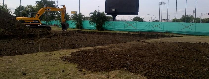 Construction start Mundialista Coliseum Cali Feb 2013