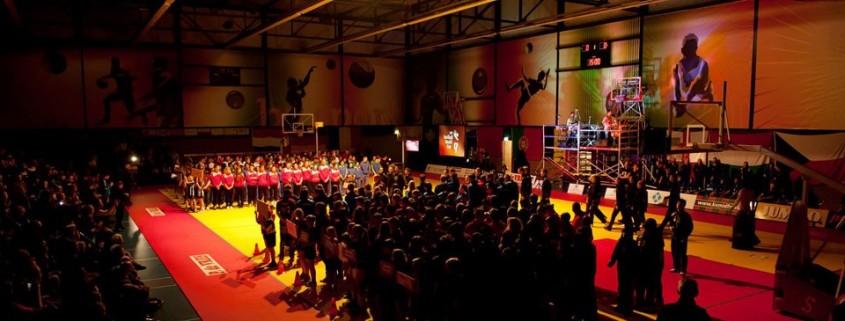Opening Ceremony of the 2013 U19 Korfball World Cup in Leeuwarden (NED) - source www.U19KWC.com