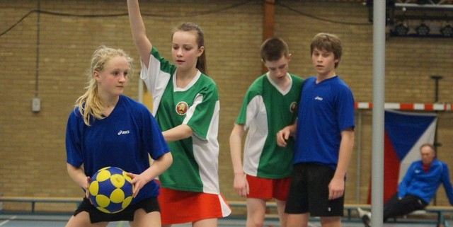 Belarus team at the U16 World Cup (source: u16talentworldcup.nl)