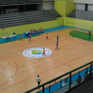 Pavilhao de Odivelas - one of the venues of the IKF 2014 European Championship