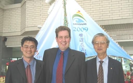 Yang's visiting City Hall of Kaohisung in 2008
