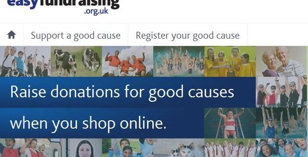 Easyfundraising website