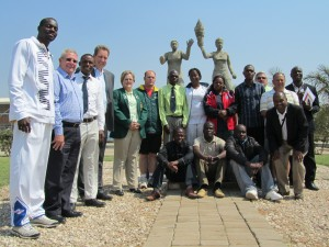 Delegates at the General Meeting of IKF Africa 2014 in Lusaka