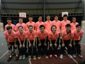 Malaysia Korfball Team Group Photo