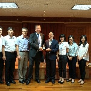 IKF President meets Dep Sports Minister Wang of Chinese Taipei