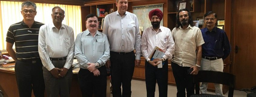 Representatives of IKF, IKC, The Association  of Indian Universities, and the National University of Physical Education meet in Delhi