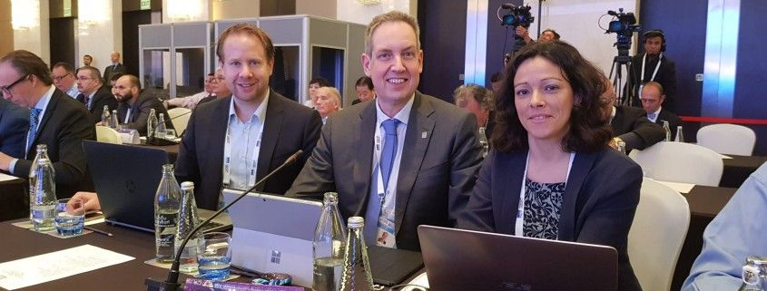 La Hay - Fransoo - Faria and SportAccord 2018
