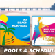 Updated: IKF Beach Korfball World Cup 2018: Pools & schedule