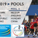 IKF U19 World Korfball Championship: Tournament set-up, pools and match schedule