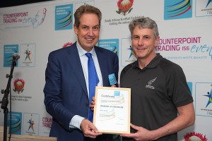 Korfball New Zealand President Rob Smith was awarded the IKF Badge of Honour