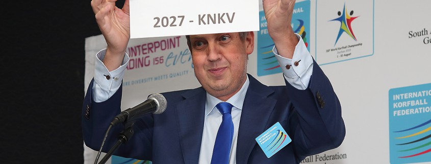 IKF President Fransoo announces the hosts of the 2023 and 2027 WKC