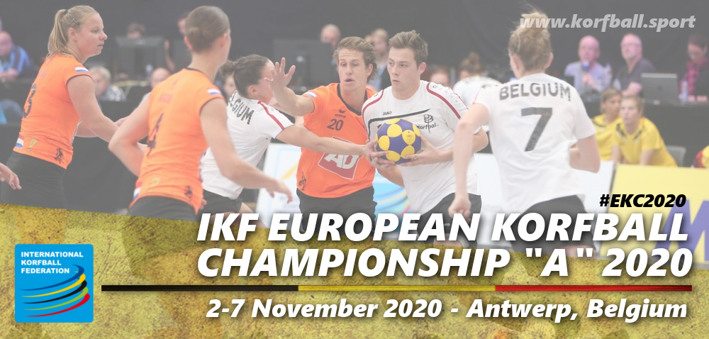 Ikf European Korfball Championship A 2020 International