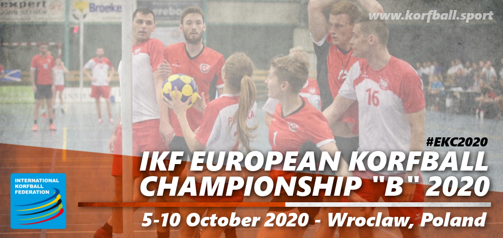 Ikf European Korfball Championship B 2020 International