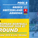 "IKF European Korfball Championship 2020 1st Round: TUR & SUI qualified for the IKF EKC ""B"" 2020"