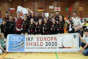 Silver medal: CK Vallparadís (CAT) - Photo: korfbalfoto.nl