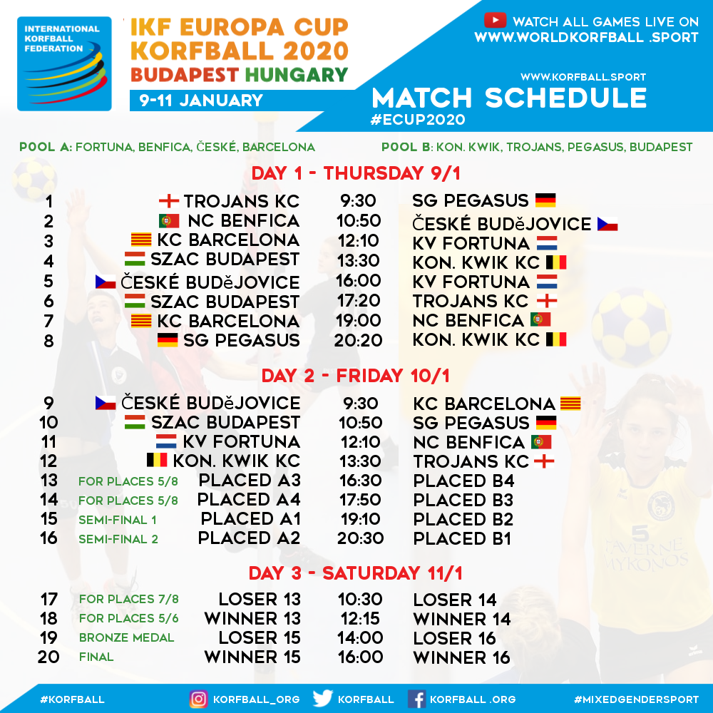 ikf_ecup_2020_official_match_schedule