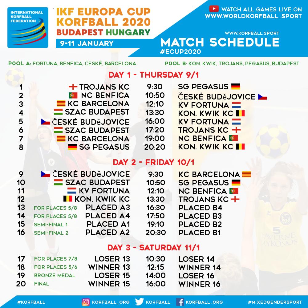 ikf_ecup_2020_official_match_schedule