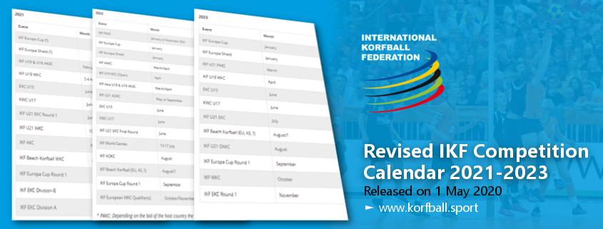 Revised IKF Competition Calendar 2021 2023   International